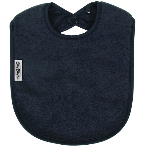 Navy Fleece Large Bib