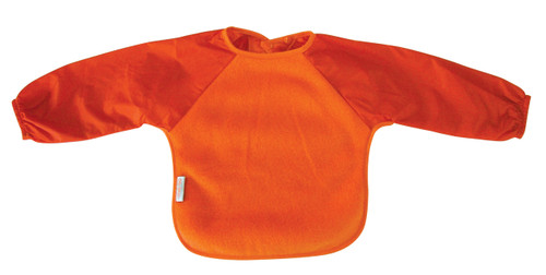 Orange Fleece Long Sleeve Bib
