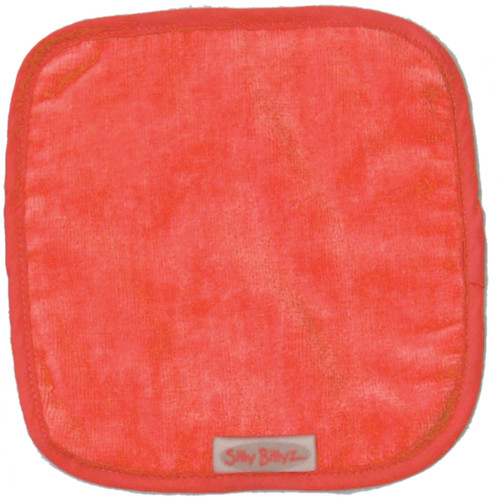 Orange Towel Face Cloth