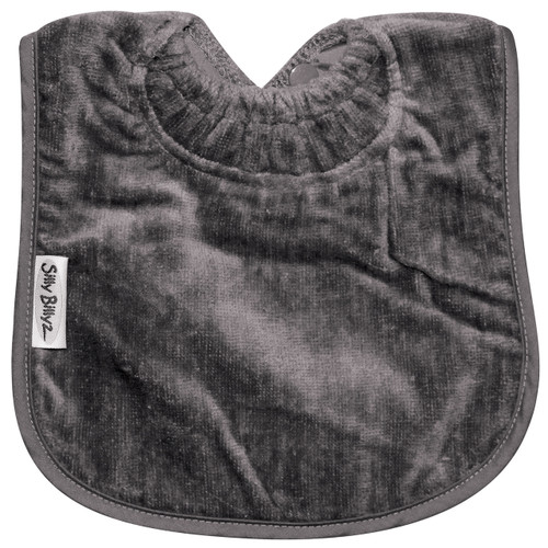 Grey Towel Large Bib