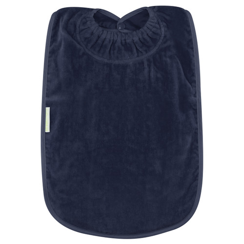 Navy Towel Youth Bib