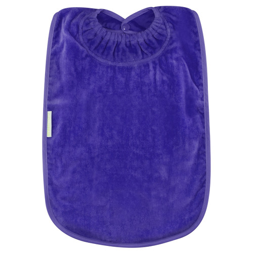 Purple Towel Youth Bib