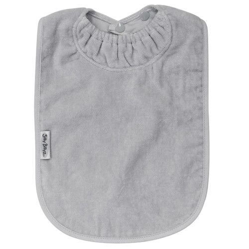 Silver XL Towel Bib