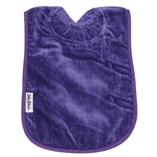 Purple XL Towel Bib
