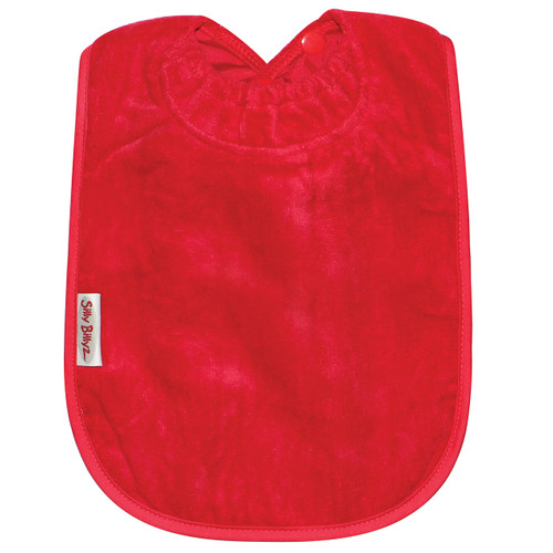 Red XL Towel Bib