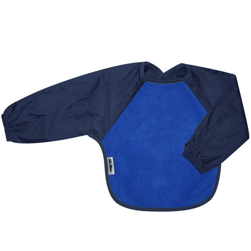 Royal/Navy Fleece Long Sleeve Bib