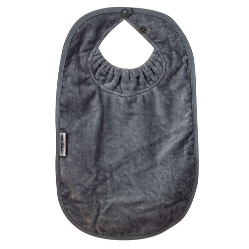 Grey XL Towel Bib