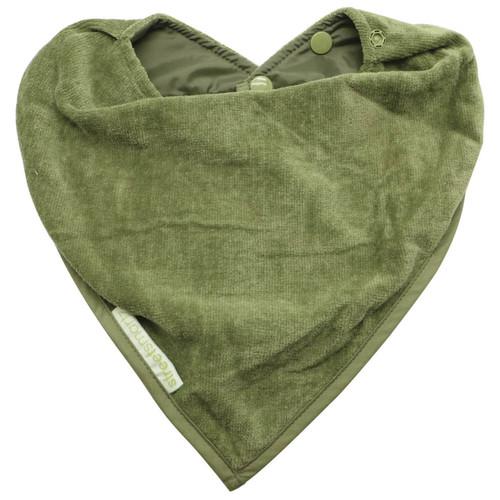 Olive Towel Adolescent Bandana Protector