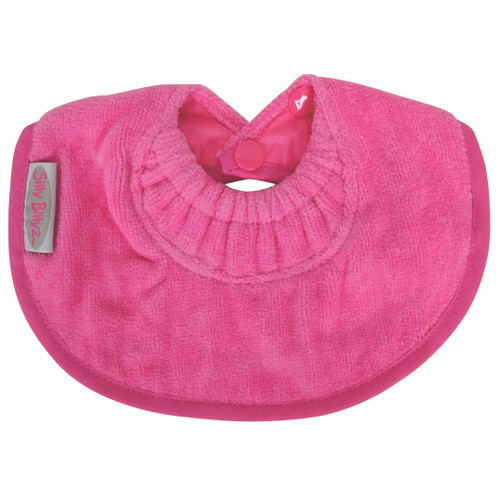 Fuchsia Towel Infant Dribble Biblet