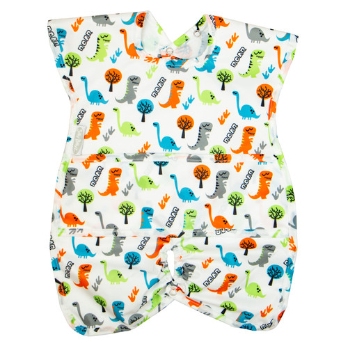 Roar Wipe Clean Nylon Highchair Hugger Bib