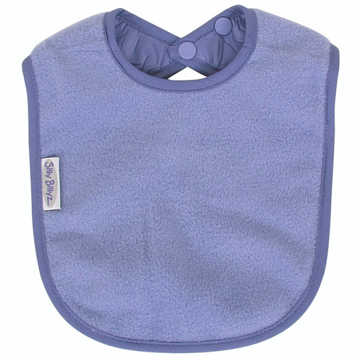 Lilac Fleece Large Bib