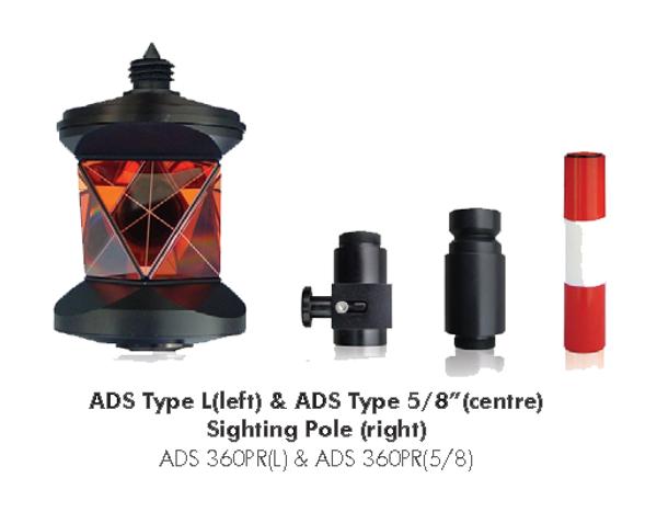 "ADS360 Type 5/8"" 360 degree prism"