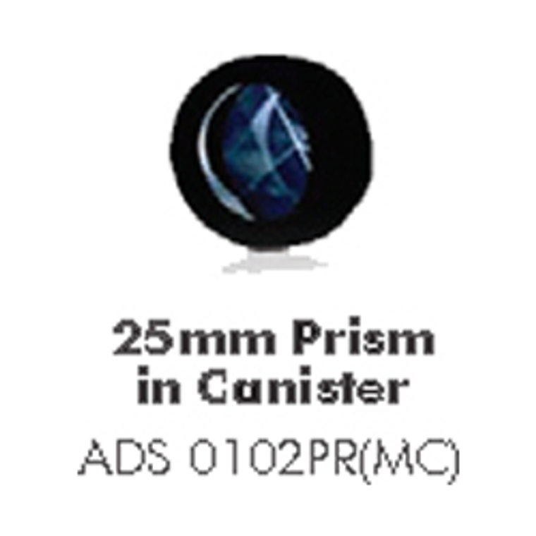 25MM Prism in canister
