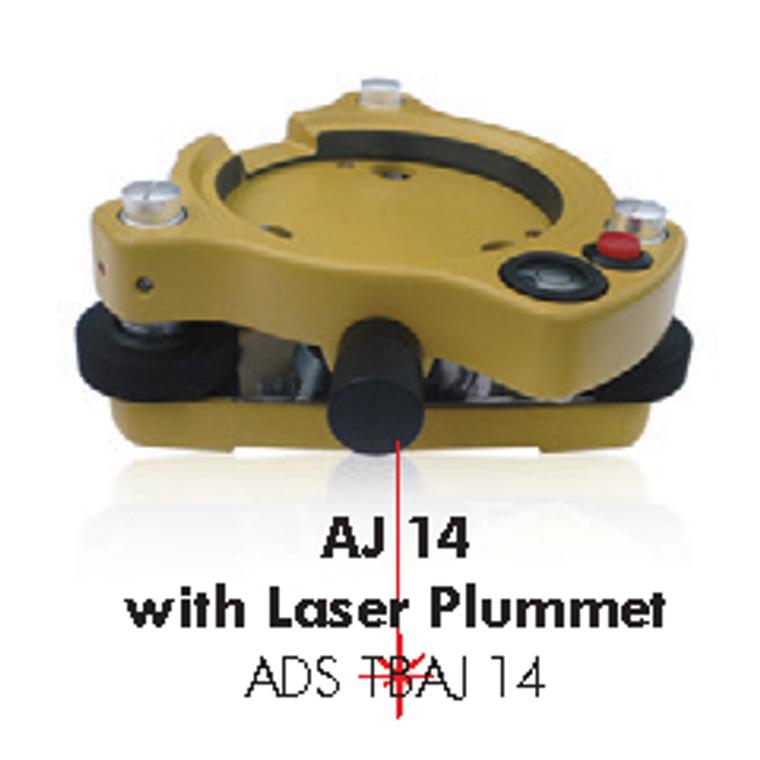 AJ14 tribrach with laser plummet