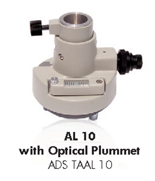 AL10 tribrach adaptor with Optical Plummet