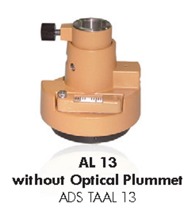 AL13 tribrach adaptor without Optical Plummet