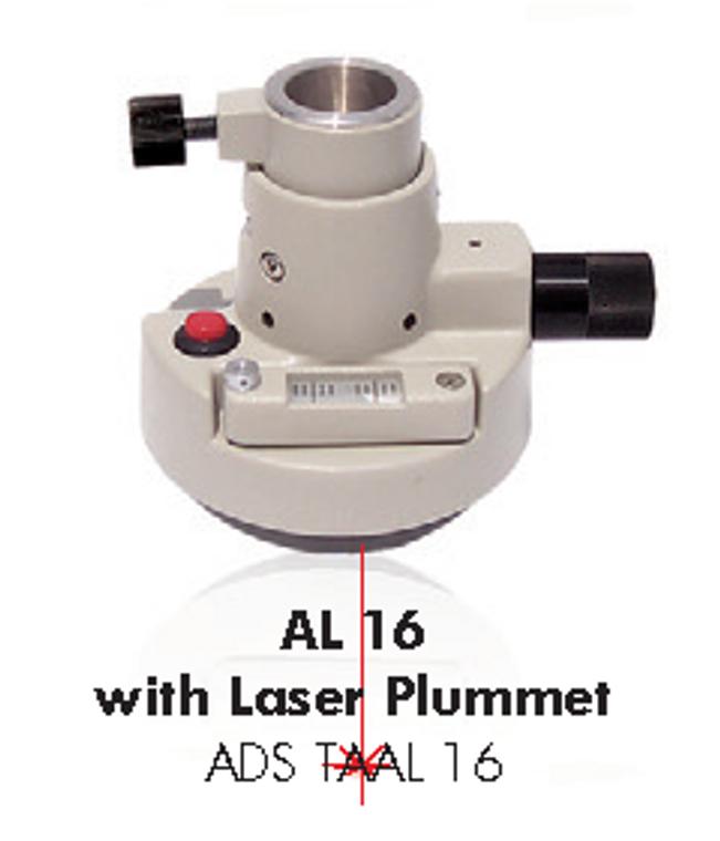 AL16 tribrach adaptor with laser plummet