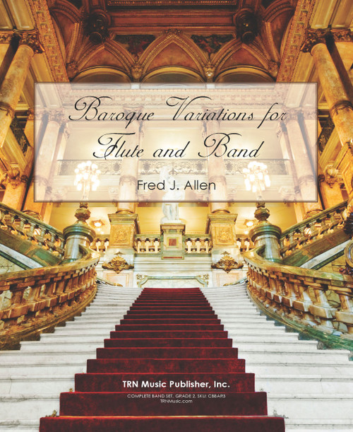 Baroque Variations for Flute and Band
