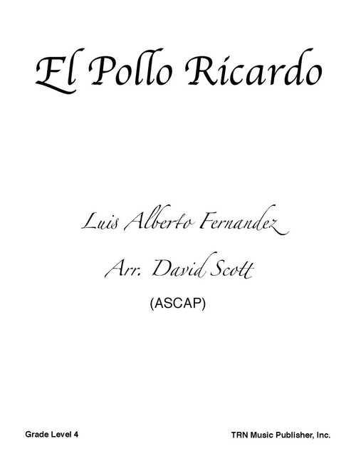 el pollo ricardo cover