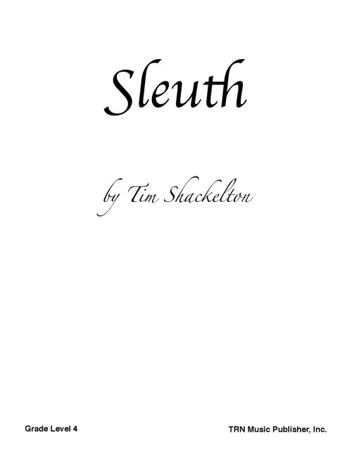 sleuth cover image