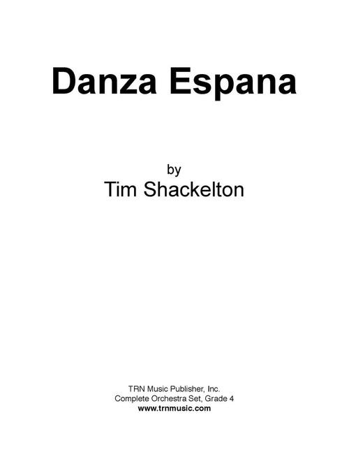danza espana cover