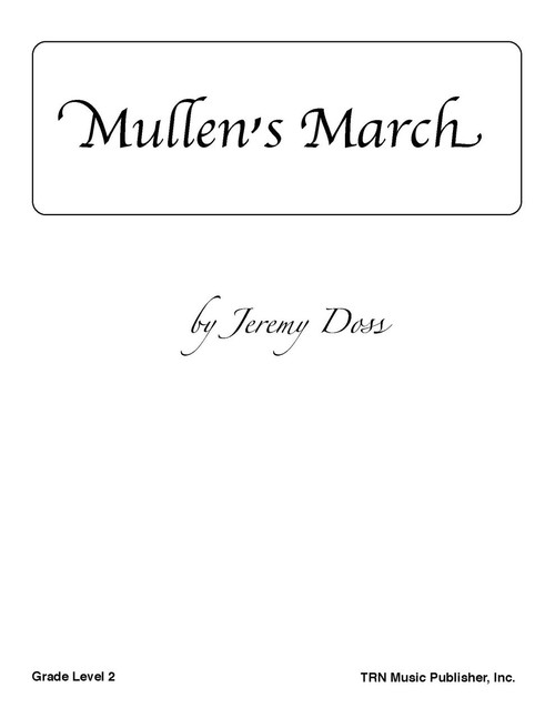 mullen's march cover