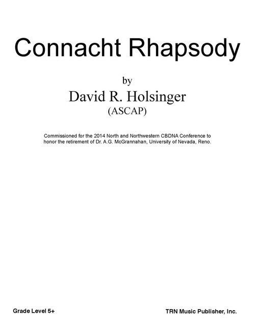 connacht rhapsody cover