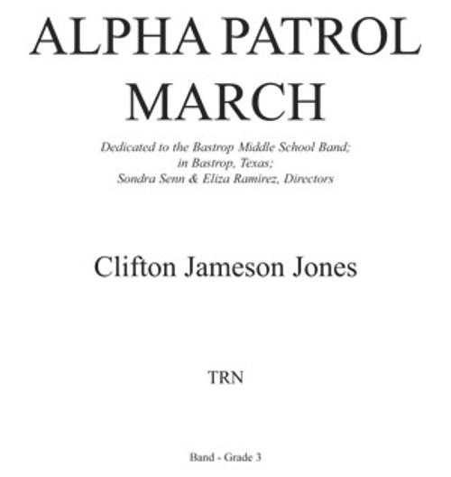 Alpha Patrol March