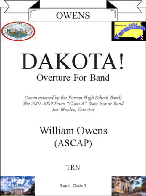 Dakota! Overture for Band