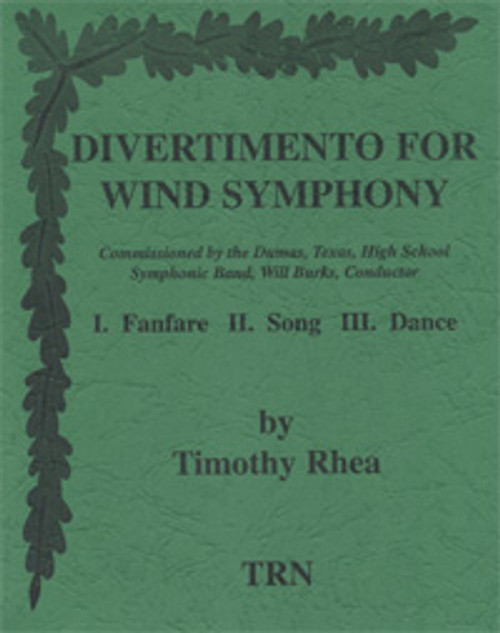 Divertimento for Wind Symphony