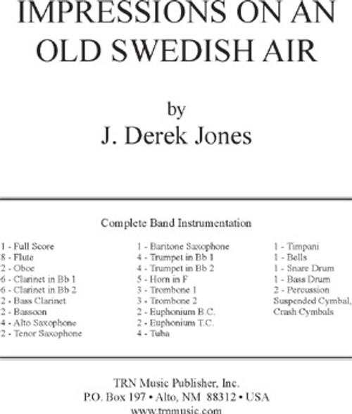 Impressions on an Old Swedish Air