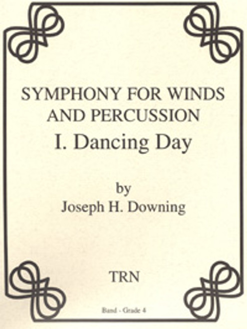 Symphony for Winds and Percussion, Movement 1, Dancing Day