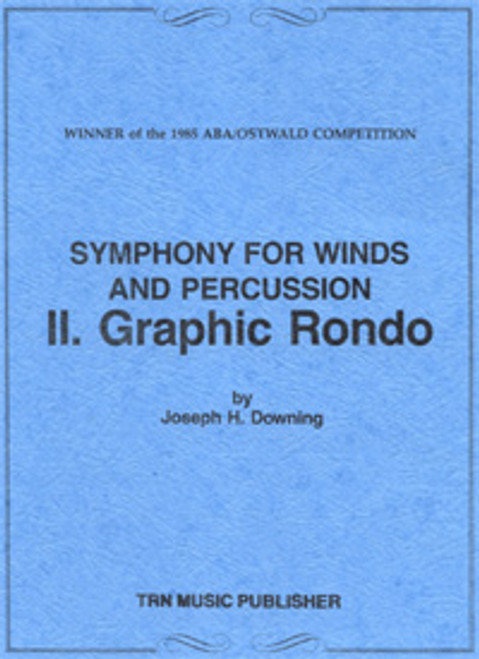 Symphony for Winds and Percussion, Movement 2, Graphic Rondo