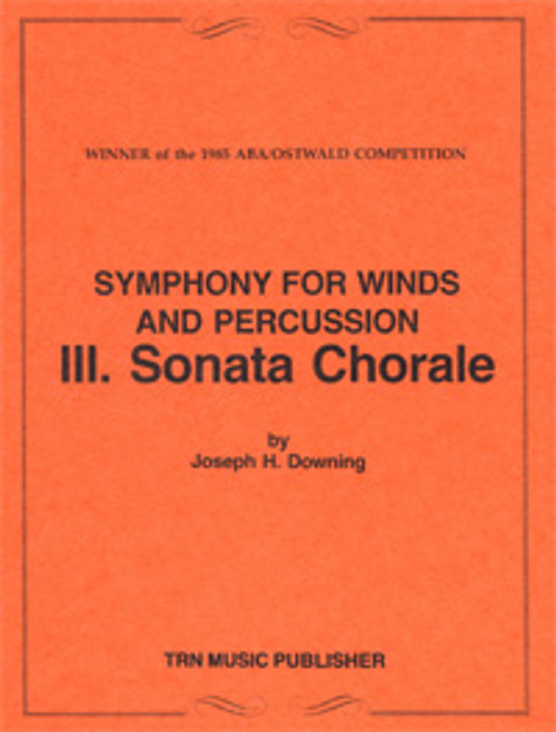 Symphony for Winds and Percussion, Movement 3, Sonata Chorale