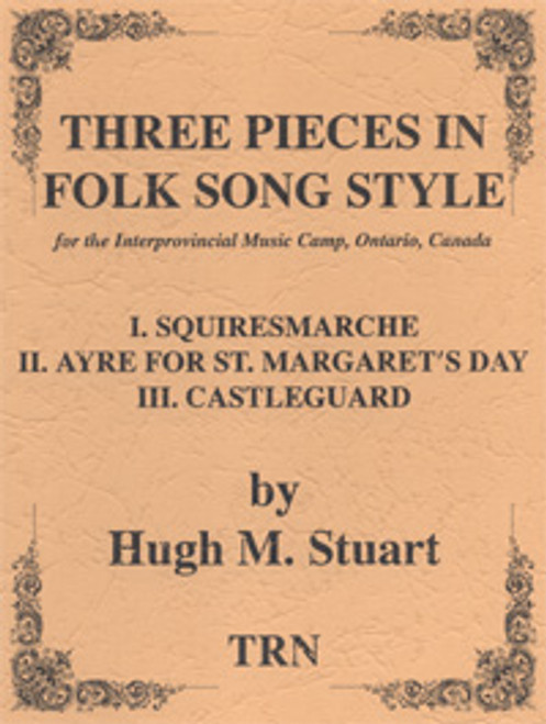 Three Pieces in Folk Song Style