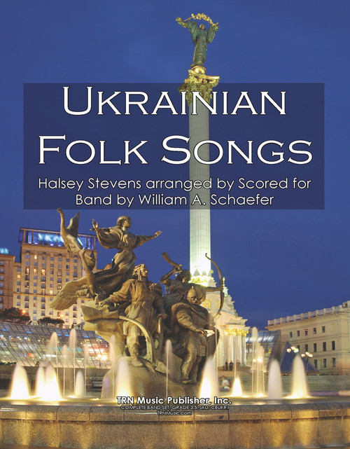 Ukrainian Folk Songs (11 Movements)
