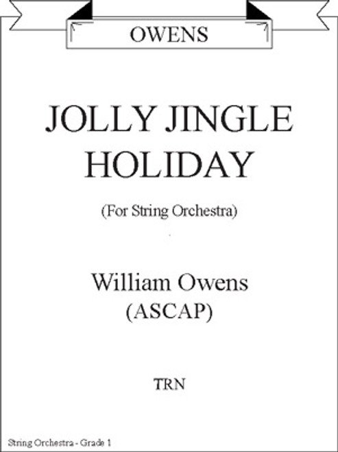 Jolly Jingle Holiday for String Orchestra