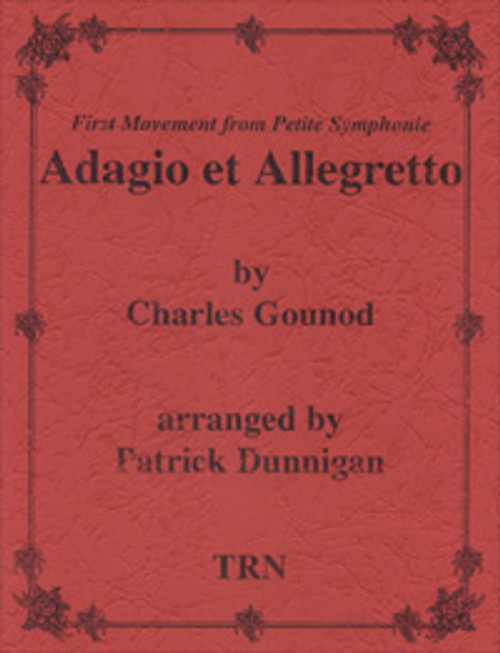Adagio Et Allegretto (Woodwind Choir)