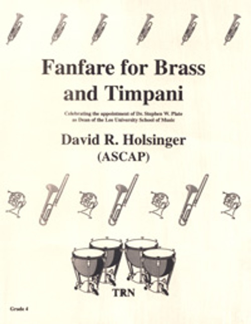Fanfare for Brass and Timpani (Opener)