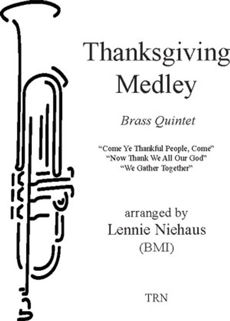 Thanksgiving Medley (Brass Quintet)