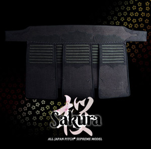 SAKURA - 3mm Clarino 3M™ Antibacterial Tare - All Japan Pitch®