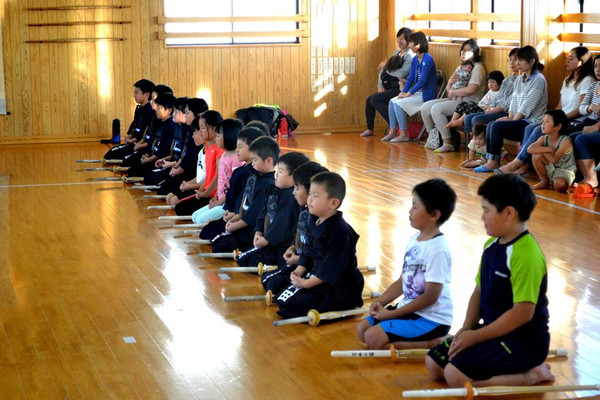 Mom&Dad, I want to do Kendo.