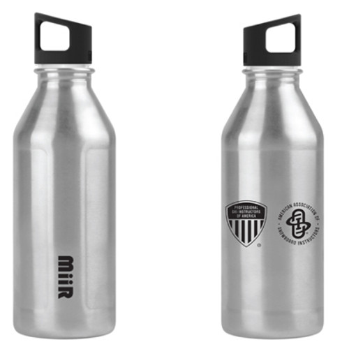 20oz PSIA-AASI Stainless Single Wall Bottle