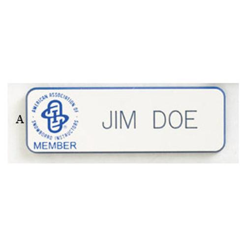 AASI Engraved ID Bar