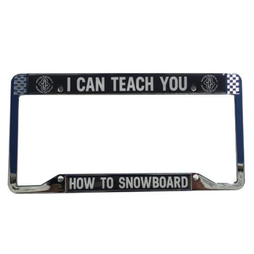 AASI Metal License Plate Frame