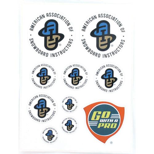 AASI sticker sheet
