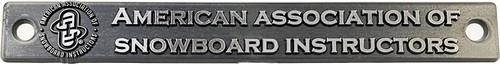 License Plate Badge - AASI