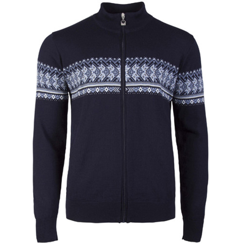 Dale of Norway Men's Hovden Jacket - Navy/Off White/Blue Shadow/Smoke