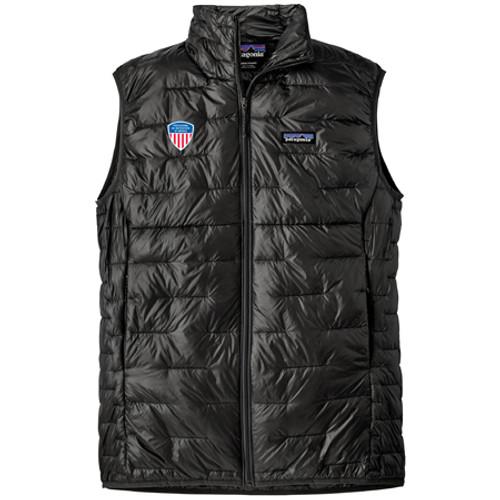 Men's Micro Puff Vest PSIA Black