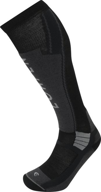 Lorpen Men's T3 Ski Light Sock - Total Black